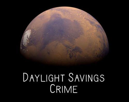 Day Savings Crime cover